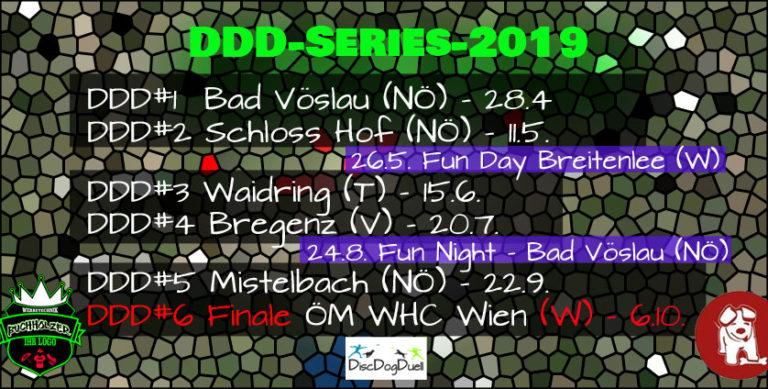 Dogfrisbee Saison-Finale der besten 16 SpielerInnen Österreichs 2019 WHC Wien
