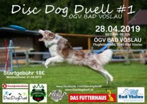 DDD-Series Dogfrisbee Turnier am 28.04.2019 in Bad Vöslau