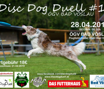 DDD-Series Dogfrisbee Turnier am 28.04.2019 in Bad Vöslau