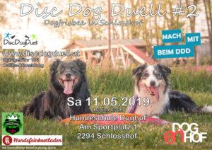DDD#2 Dogfrisbee Turnier Flyer Schlosshof am 11. Mai 2019