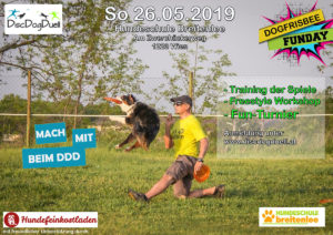 DDD Dogfrisbee Fun Day in Breitenlee (W) am 26.5.2019