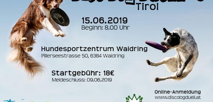 Dogfrisbee Turnier am 15.06.2019 in Waidring in Tirol