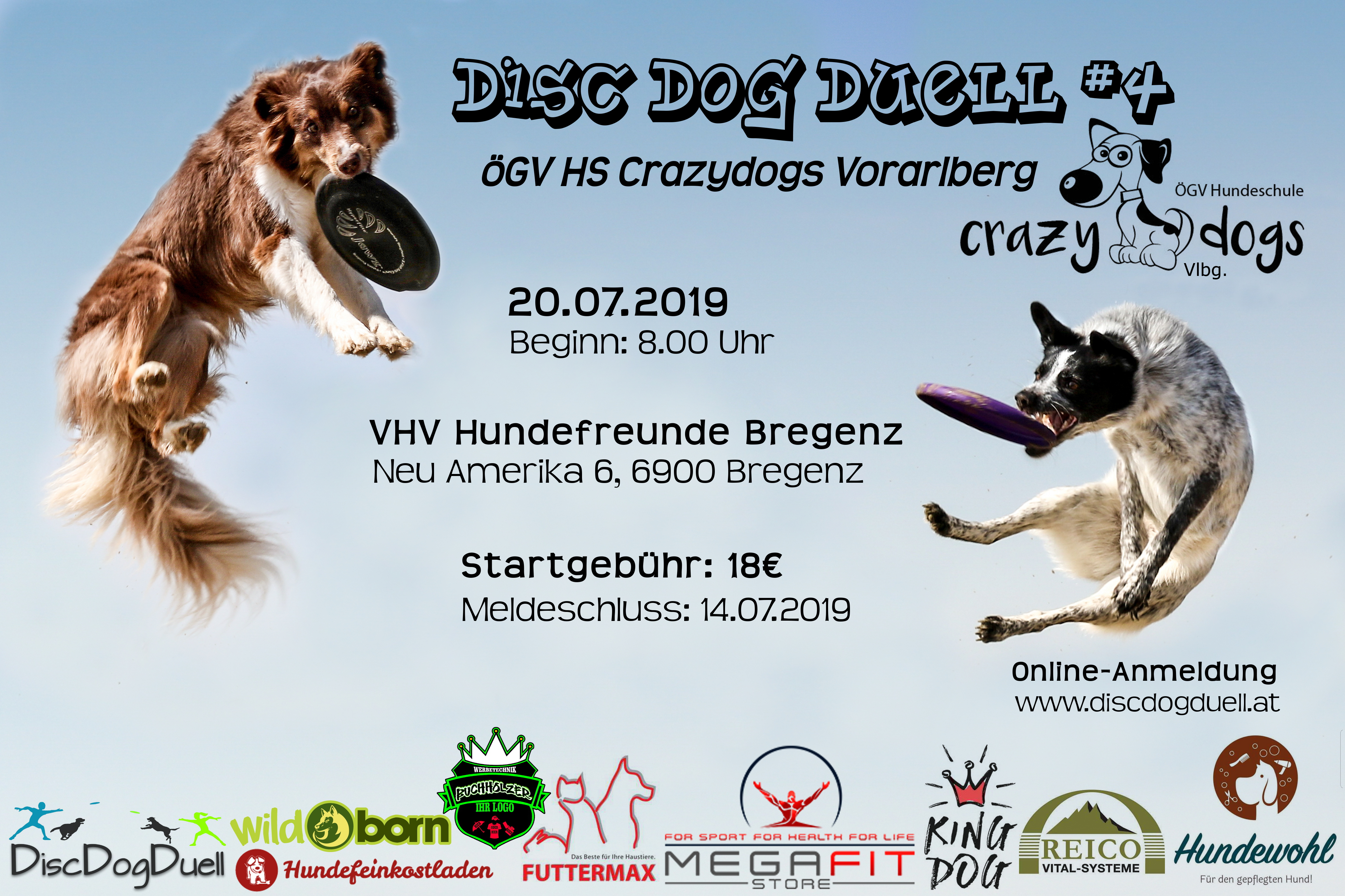 Dogfrisbee Turnier (DDD-Series) in Bregenz