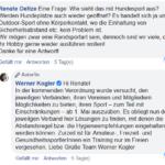 Werner Kogler Hundesport geplante Lockerung der Coronamaßnahmen